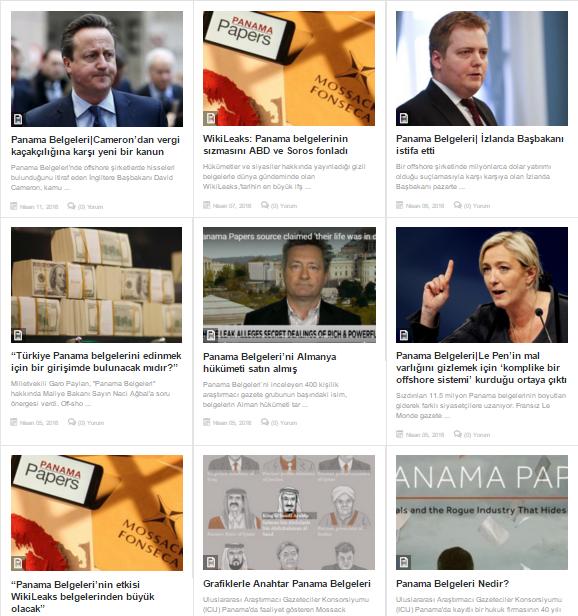 Panama Belgeleri Haberleri/Dağ Medya