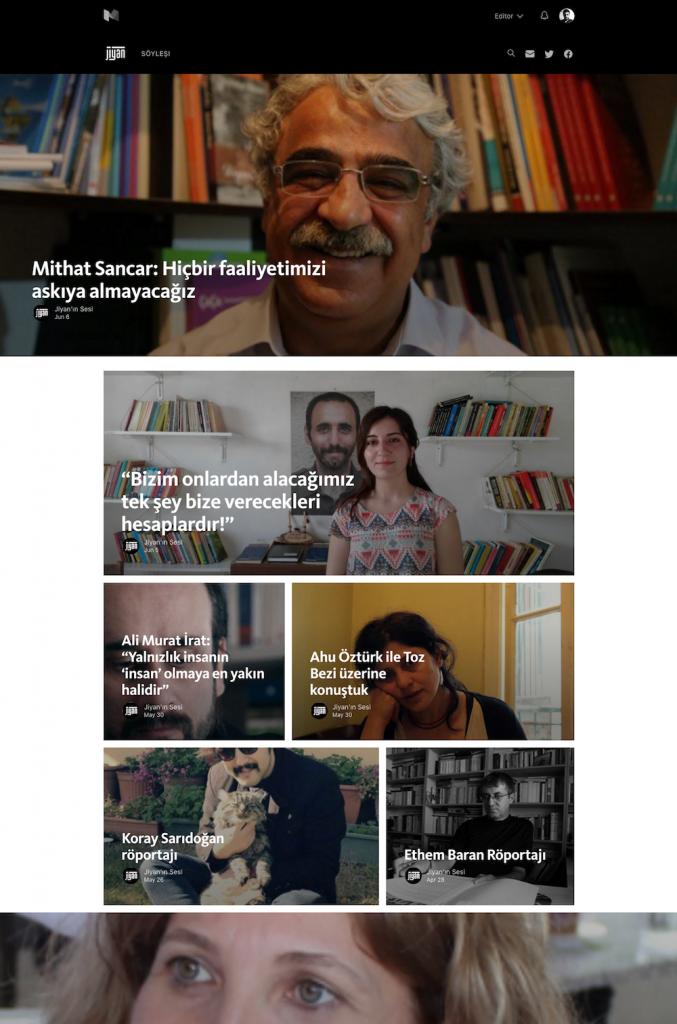 Jiyan.org'da yakın zamanda yaşadığımız bazı hosting sıkıntıları nedeniyle biz de Medium'dan özgün içerikler için eş zamanlı yayına geçtik.