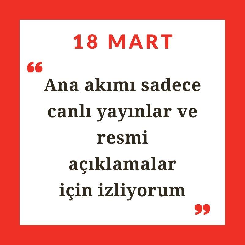 Karantinada haber 5: 'Uluslararası medyanın Türkçe servislerine güveniyorum'
