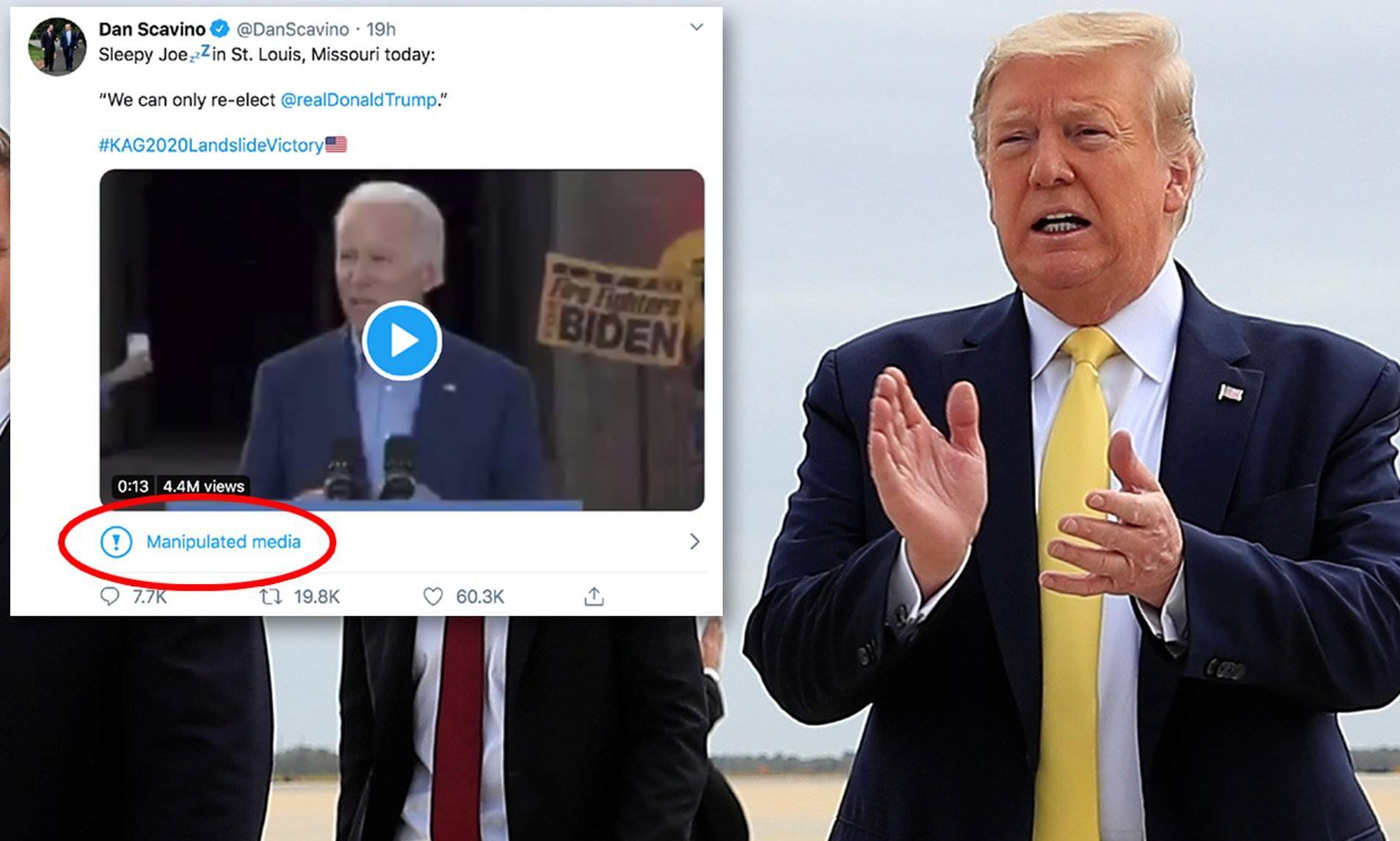 Twitter ilk damgayı Trump'ın 'retweet'ine koydu: 'Manipüle edilmiş medya' - Journo